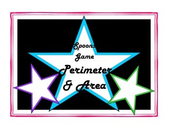 Area & Perimeter Spoons Game