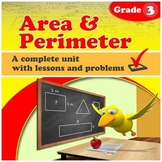 Area & Perimeter - grade 3 common core