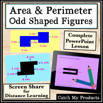 Area & Perimeter of Odd Shaped Polygons Power Point