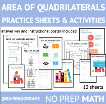 Area Practice Worksheet