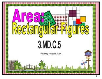 Area:  Rectangular Figures