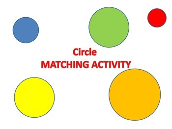 Area and Circumference of Circles Matching Activity