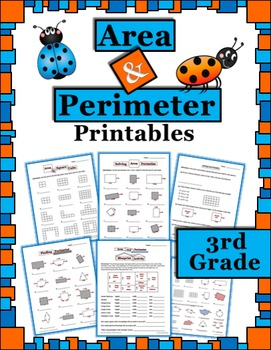 Area and Perimeter 3rd Grade Printables (worksheets, activ