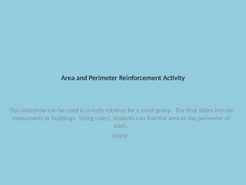 Area and Perimeter Activity Powerpoint