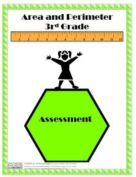 Area and Perimeter Assessment - 3rd Grade
