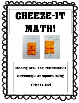 Area and Perimeter Cheeze-it Math Activity