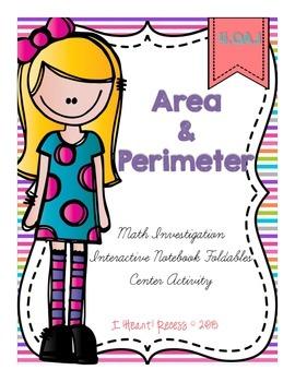Area and Perimeter Freebie