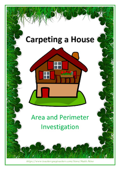 Area and Perimeter Investigation - Carpets for a House