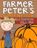 Area and Perimeter Mini-Projects {Farmer Peter's Pumpkin Patch}