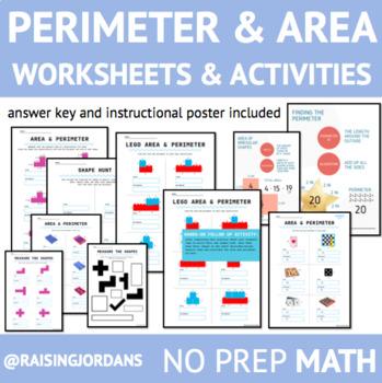 Area and Perimeter Practice Worksheet
