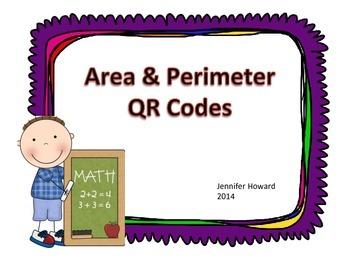Area and Perimeter QR Codes