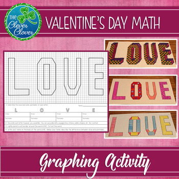 Area and Perimeter - Valentine's Day Freebie