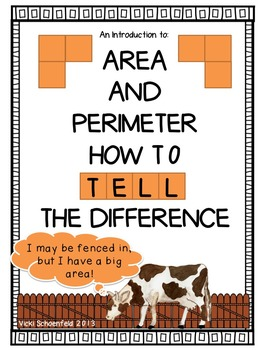 Area and Perimeter: How to Tell the Difference