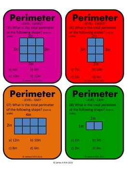 Area and Perimeter of Rectangles and Squares Activity Task