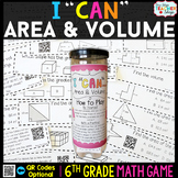 6th Grade Area and Volume Game - 6th Grade Math Game