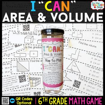 6th Grade Area and Volume Game - 6th Grade Math Game