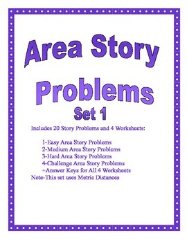 Area of Circle Story Problems Set 1