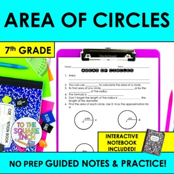 Area of Circles Notes