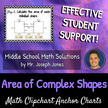Area of Complex Shapes: DIY Math Anchor Chart CLIPCHART
