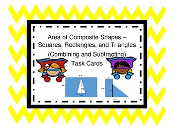 Area of Composite Shapes (Square, Rectangle, and Triangle)