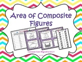 Area of Composite Shapes Task Cards ~Aligned to CCSS 6.G.1