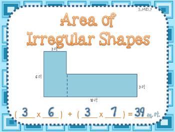 Area of Irregular Shapes