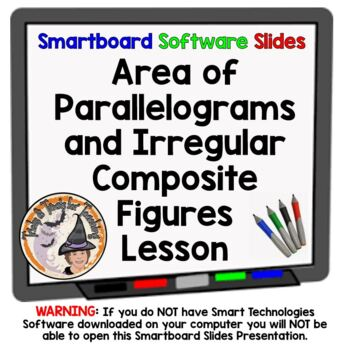 Area of Parallelograms and Irregular Composite Figures Sma
