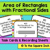 Area of Rectangles with Fractional Sides