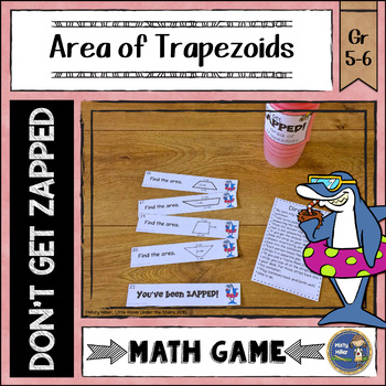 Area of Trapezoids ZAP Math Game