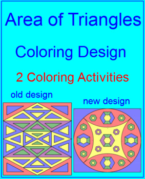 Area of Triangles - Coloring Activity