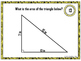 Area of Triangles Large Task Cards