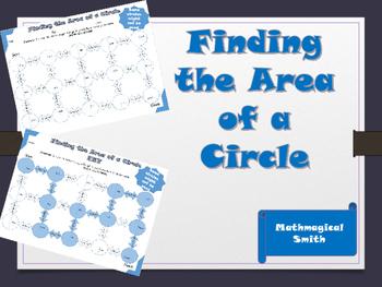 Area of a Circle Maze