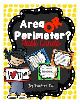 Area or Perimeter? Task Cards