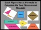 Areas of Triumphant Triangles and Quality Quadrilaterals