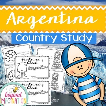 Argentina Country Study 48 Pages for Differentiated Learni