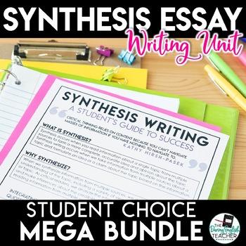 Argument Essay Unit - Student Choice MEGA BUNDLE