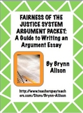 Argument Essay on the Fairness of the Justice System: Step