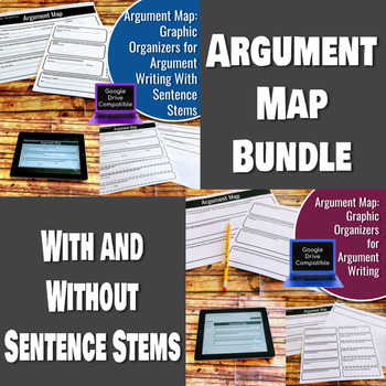 Argument Map Bundle: With and Without Sentence Stems - Dif