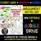 Argument Writing Common Core Grades 6-12 Editable