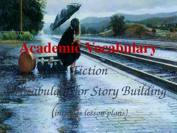 Story Academic Vocabulary PowerPoint with Lesson Plans