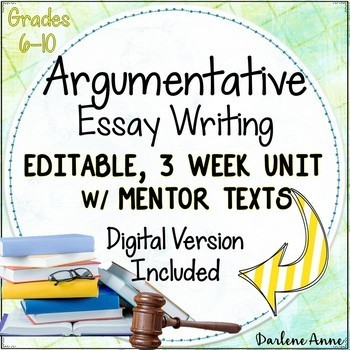 argumentative writing common core