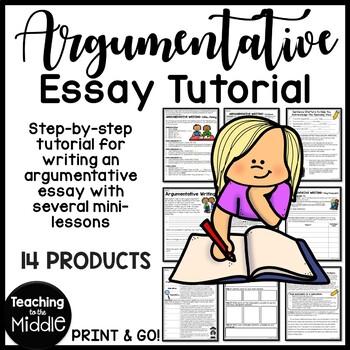 Argumentative / Persuasive Writing Tutorial Start to Finis