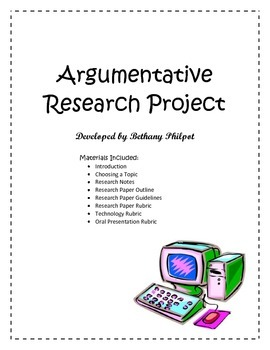 Argumentative Research Project