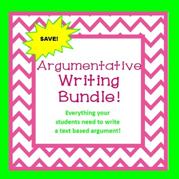 Argumentative Writing Bundle