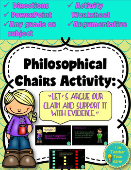Argumentative Writing using Philosophical Chairs- PowerPoi