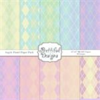 Argyle Paste Paper Pack
