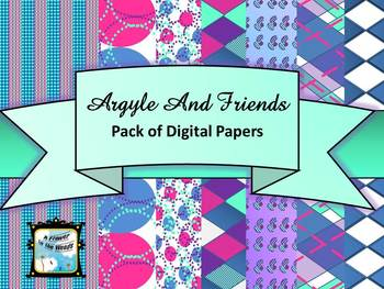 Argyle and Friends Digital Papers