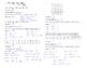 Arithmetic Sequences Notes - Recursive Rule