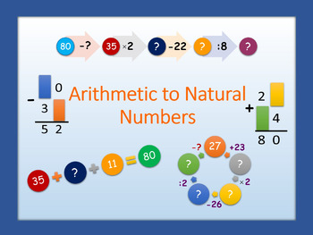 Arithmetic to Natural Numbers