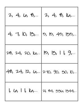 Arithmetic/Geometric Sort